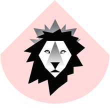 Lion crown logo